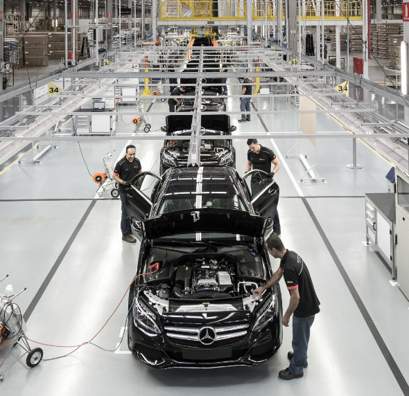 Mercedes-Benz starts passenger-car production in Brazil