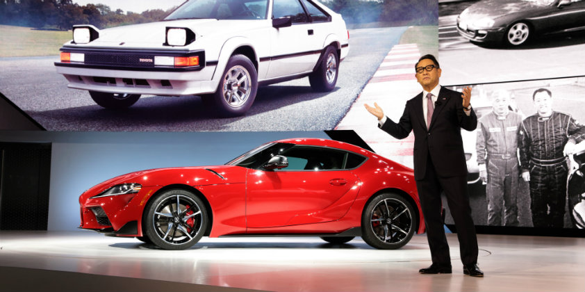 Toyota's new Supra debuts at Detroit Auto Show - Automotive Purchasing and  Supply Chain