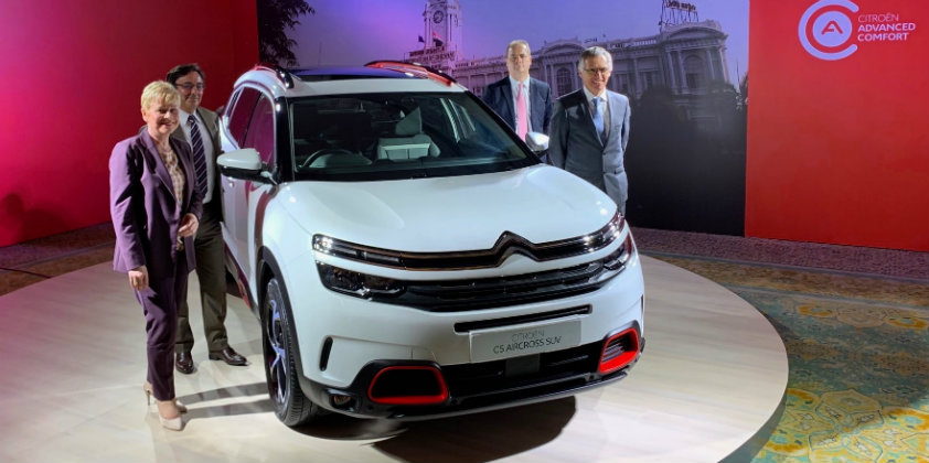 Groupe Psa To Enter The Indian Market With The Citroen C5 Aircross