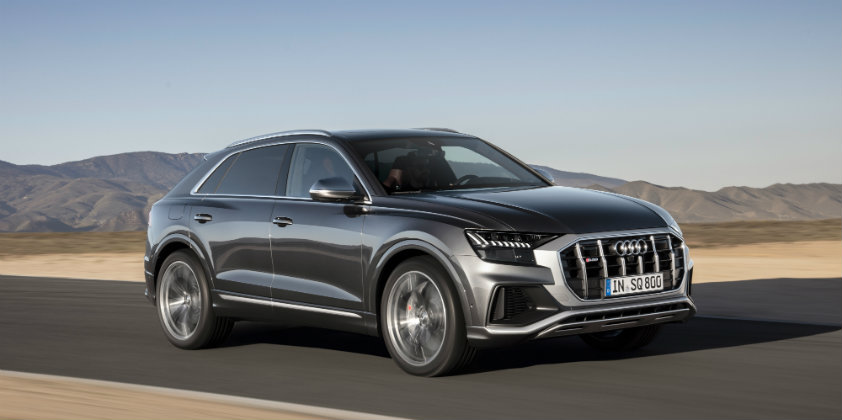 All new Audi SQ8 breaks cover