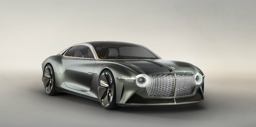 Bentley banks on tomorrow's battery tech with EXP 100 GT concept