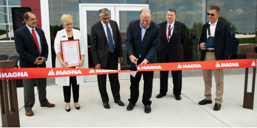 Magna opens new electronics facility to support production of ADAS components