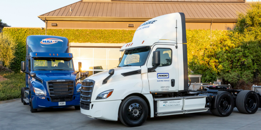 Daimler delivers its first electric Freightliner eCascadia to US customers