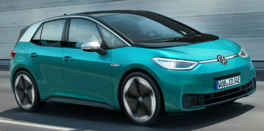 Volkswagen's all electric ID.3 launched
