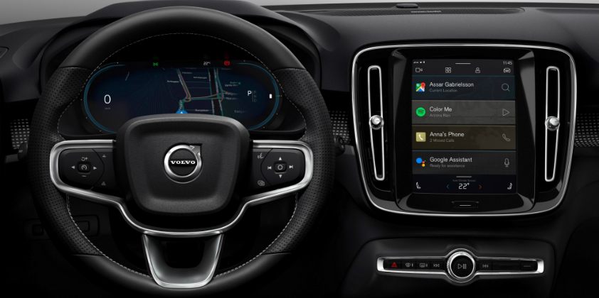 Volvo becomes first OEM to team up with Google on integrating an infotainment system