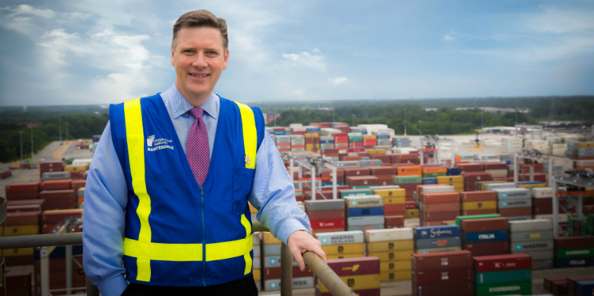 Georgia Ports Authority adds 40 acres of vehicle handling space at Brunswick port
