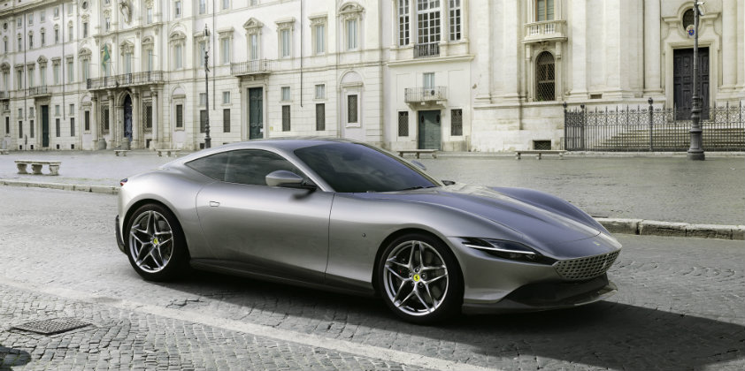 Ferrari Roma coupé unveiled in Rome