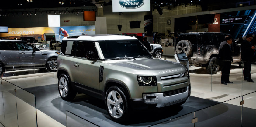 North American Auto Show 2020.2020 Land Rover Defender Marks Its North American Debut