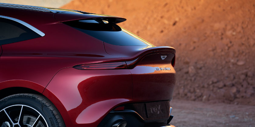 Pirelli to supply three different types of tyre for the Aston Martin DBX