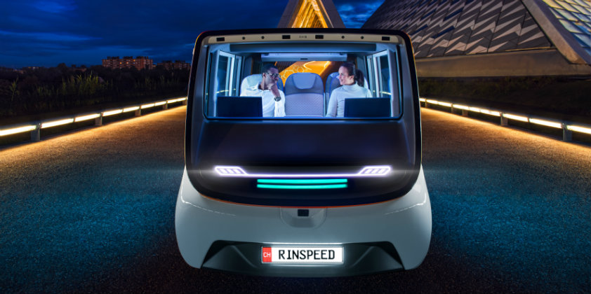 Osram to showcase its latest technologies in Rinspeed's MetroSnap Concept Vehicle