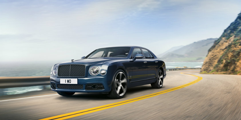 Bentley launches the Mulsanne 6.75 Edition