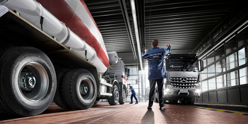 Daimler Trucks & Buses maintaining its service network