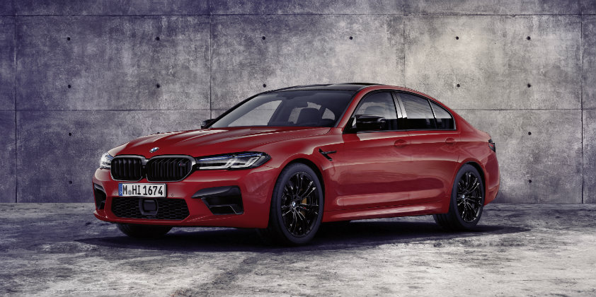 New BMW M5 Competition revealed