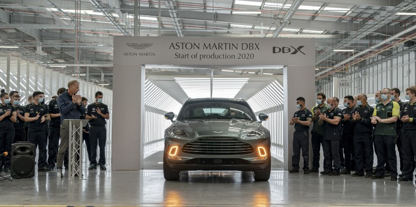 Dbx Is The First Aston Martin To Be Made In Wales Automotive Purchasing And Supply Chain