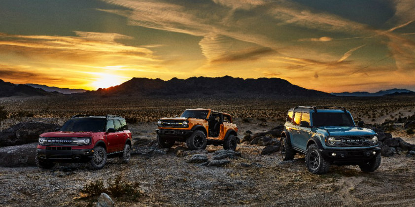 Ford's iconic nameplate, the Bronco, makes a comeback