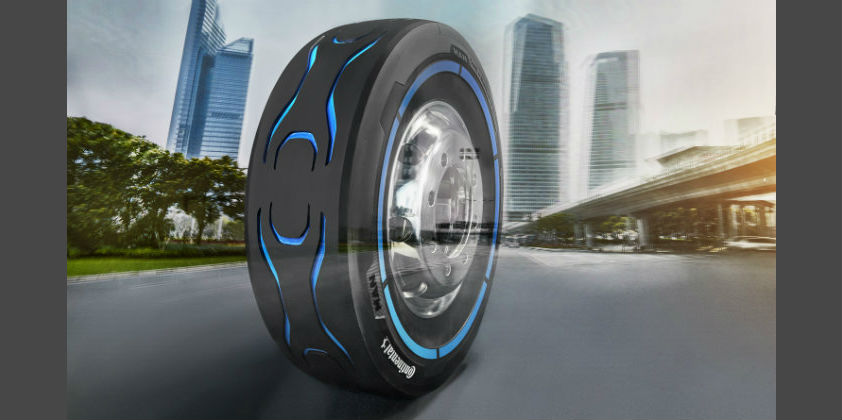 Continental makes special tyres for electric cars, buses and trucks