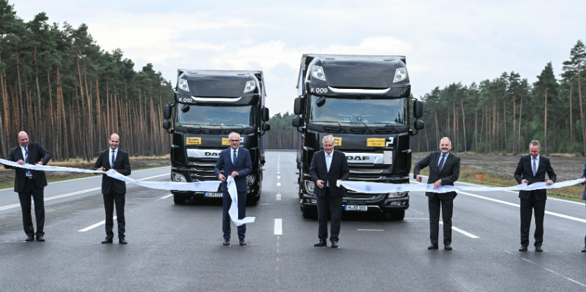 ZF opens its expanded Erich Reinecke test track in Jeversen, Germany
